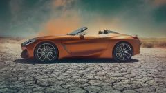 BMW Z4 2018: vista laterale