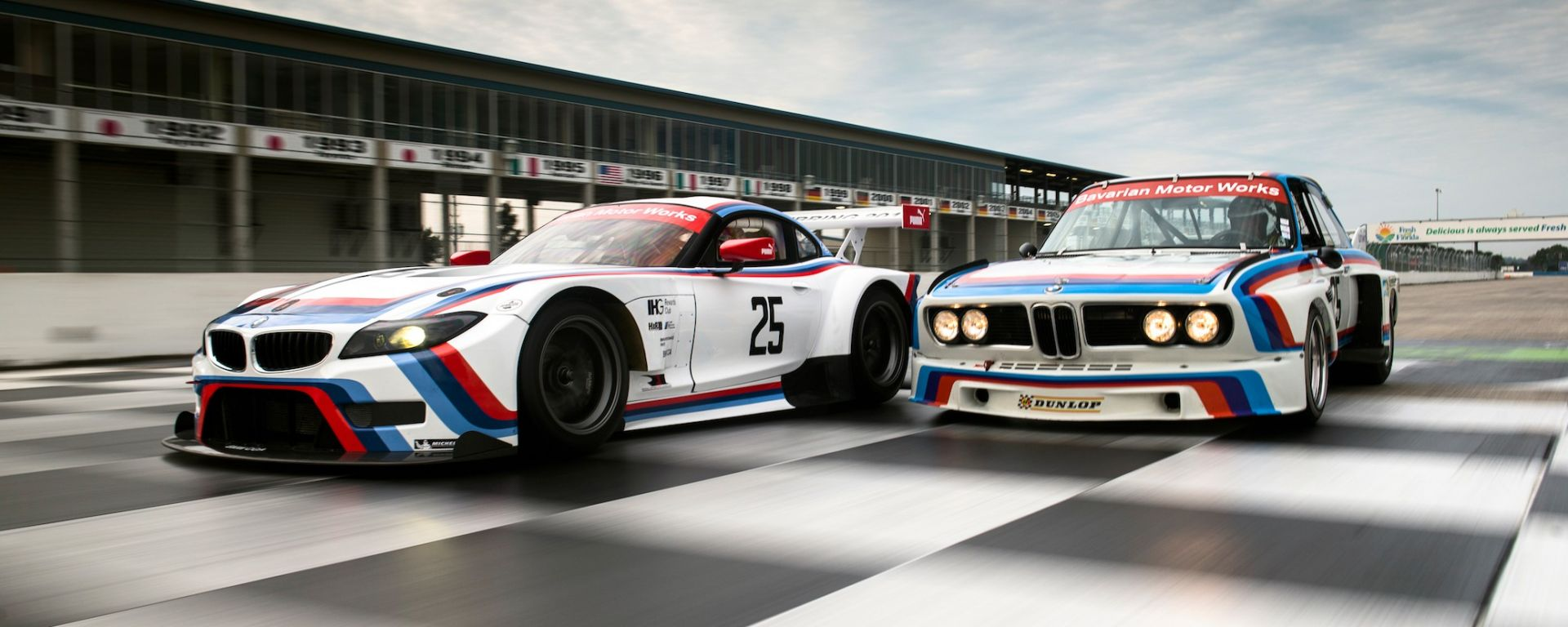 BMW Z4 GTLM 40th Anniversary Design