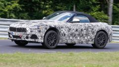 BMW Z5, i muletti in fase di collaudo