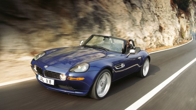 BMW Z8, l'eleganza si fa auto