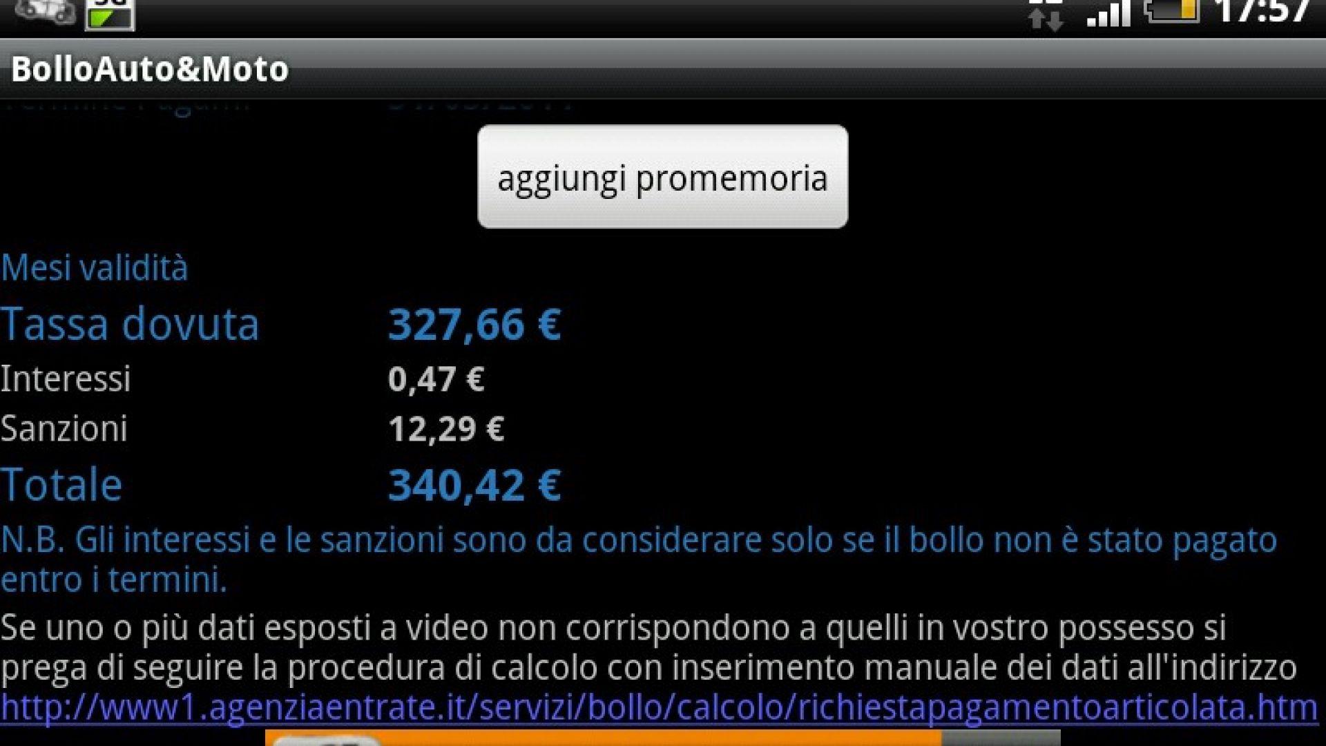 Immagine 0: Bollo Auto & Moto