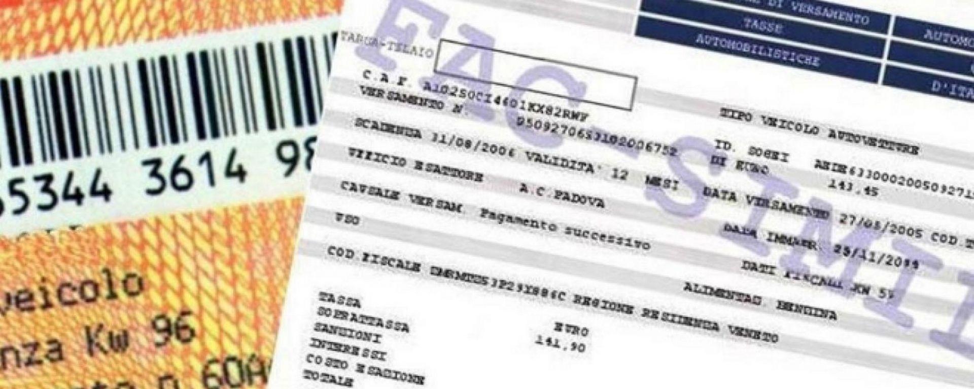 Bollo auto non pagato: ora è prescritto dopo 3 anni