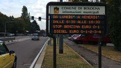 Bologna, stop alle Euro 4 da gennaio 2021