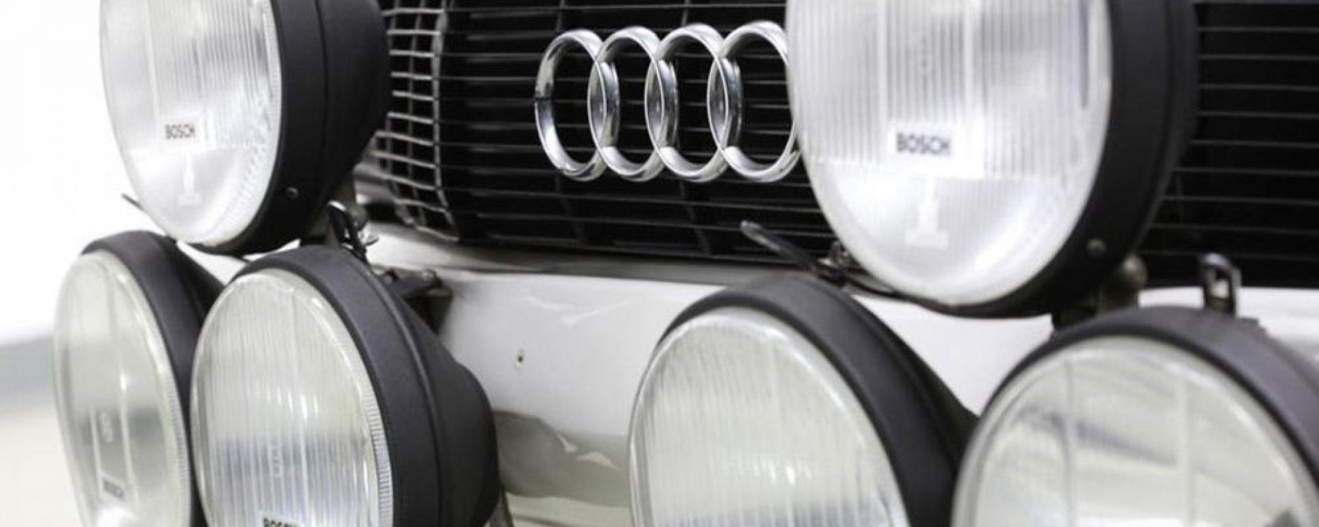 Bonhams: all'asta una Audi Quattro speciale