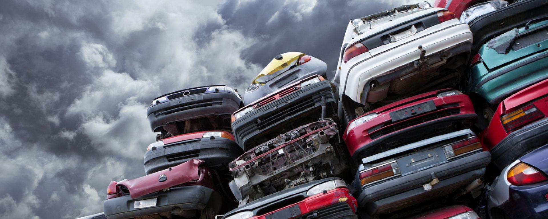 Bonus per chi rottama le vecchie auto