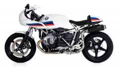 BOS SSEC: doppio silenziatore per BMW R Nine T Racer - Immagine: 2