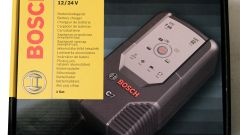 Come salvare la batteria. Il mantenitore di carica Bosch C7