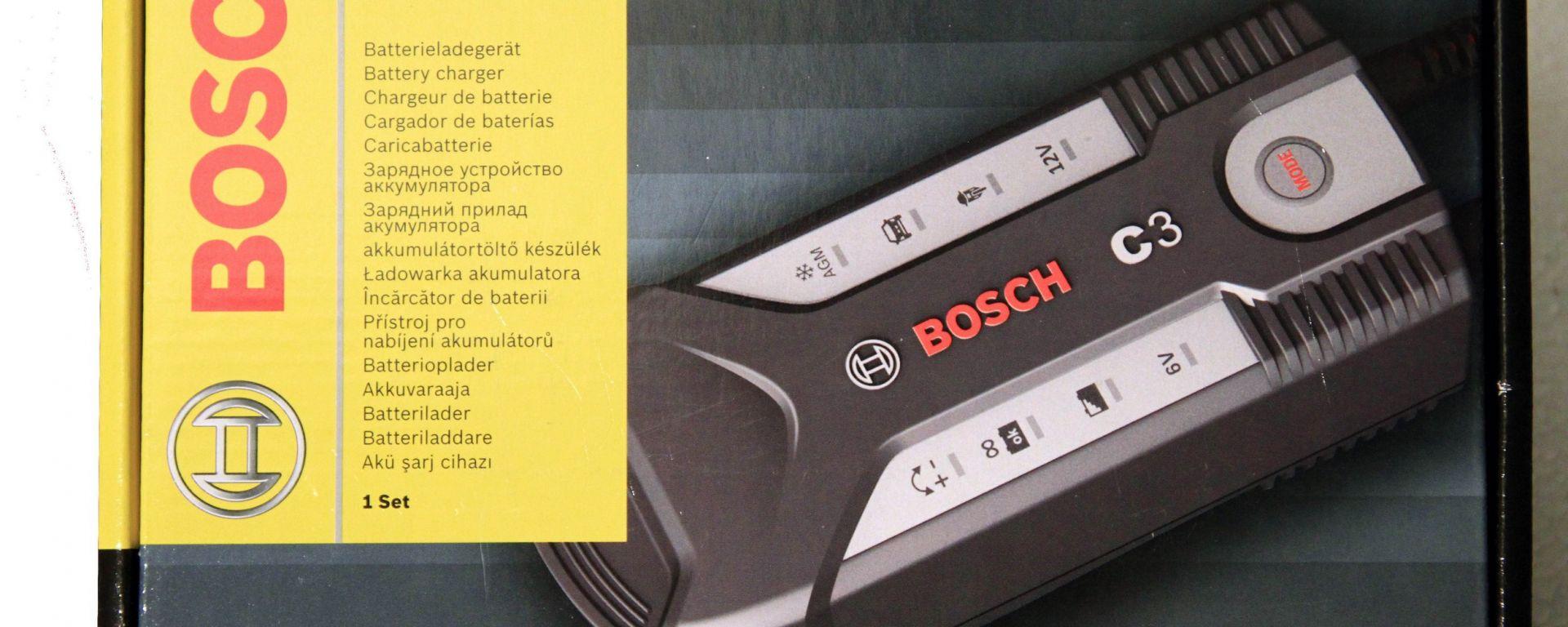 Come salvare la batteria. Il mantenitore di carica Bosch C3