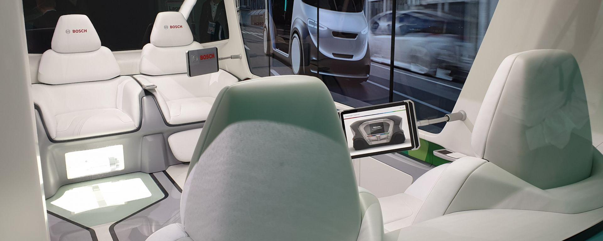 Bosch Connected World 2019, il futuro della mobilità in anteprima