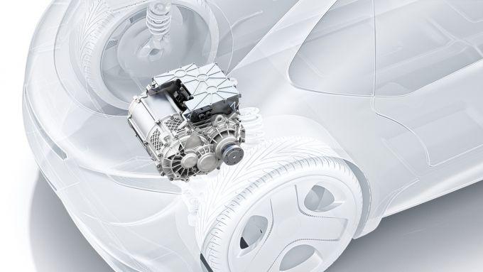 Bosch e-Axle, il sistema integrato per realizzare un'auto elettrica
