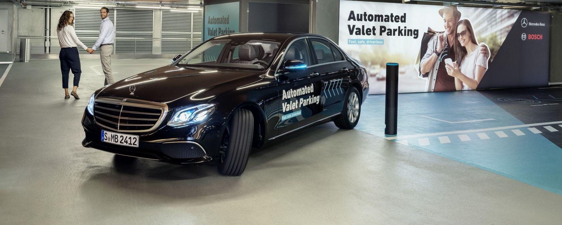 Bosch e daimler creano il parcheggio autonomo nel museo for Garage autonomo