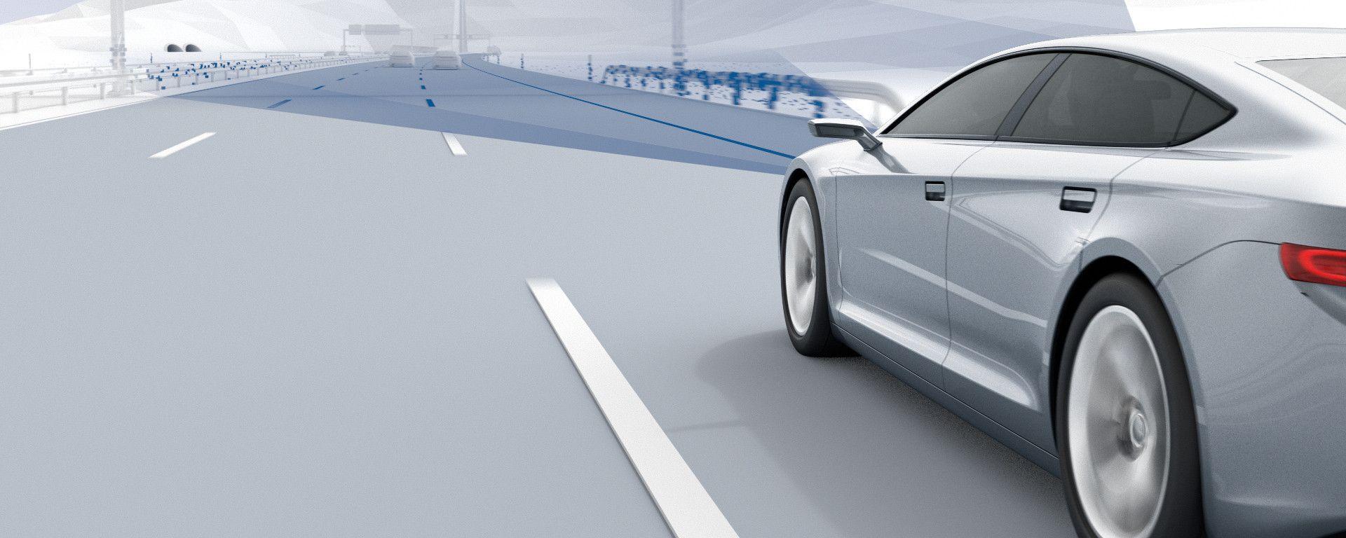Bosch e la guida autonoma, un intreccio di hardware, software e servizi