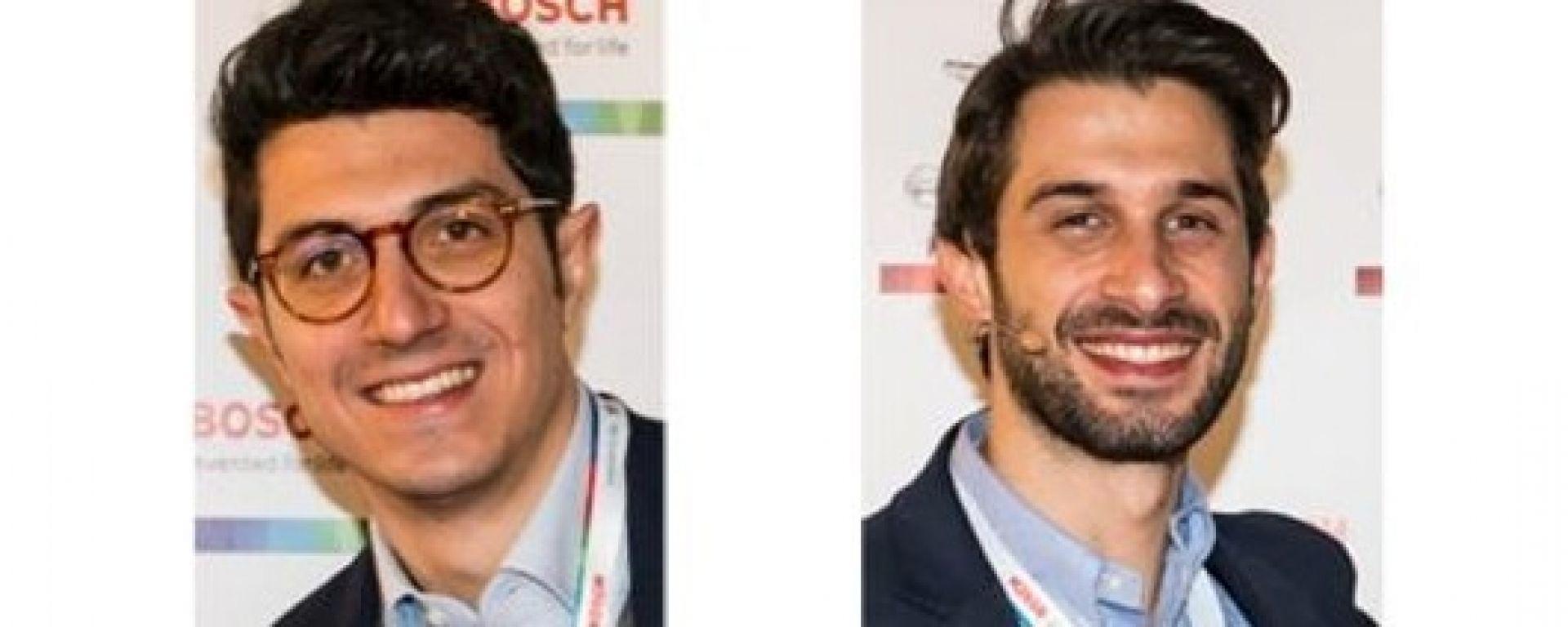 Bosch Italia: nella foto, da sinistra, Marco Gardenale e Mauro Guerrini