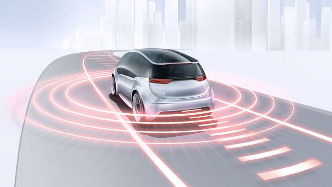 Bosch Lidar al CES 2020