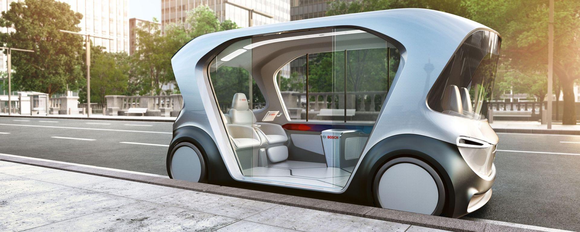 Bosch: lo shuttle a guida autonoma in scena al CES 2019