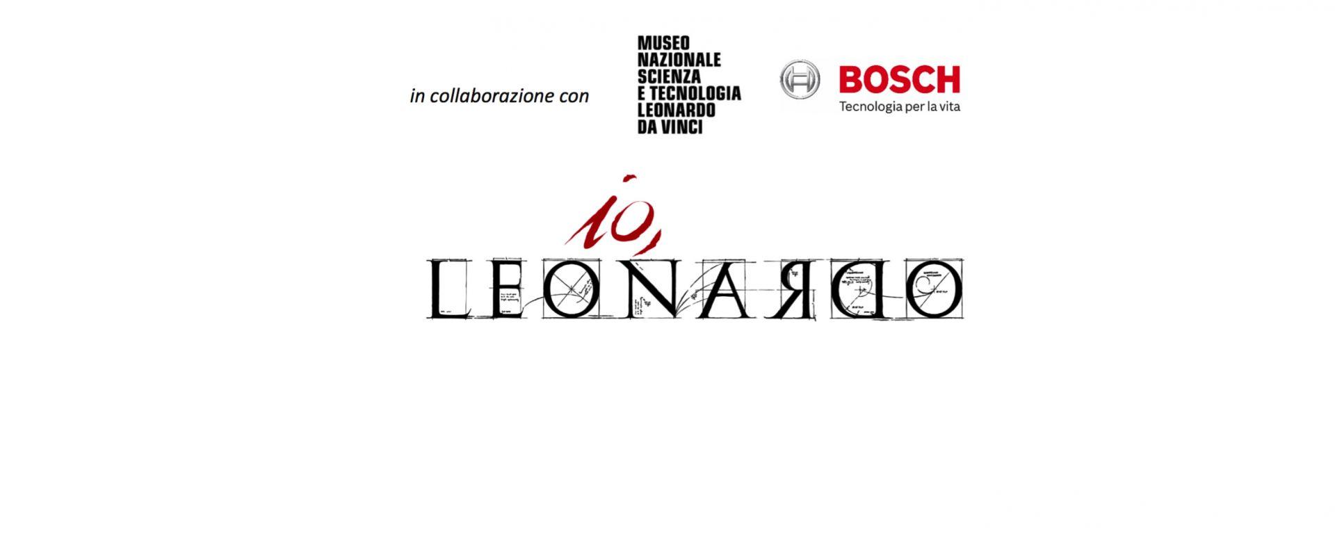Bosch partner di Io, Leonardo per celebrare il genio italiano