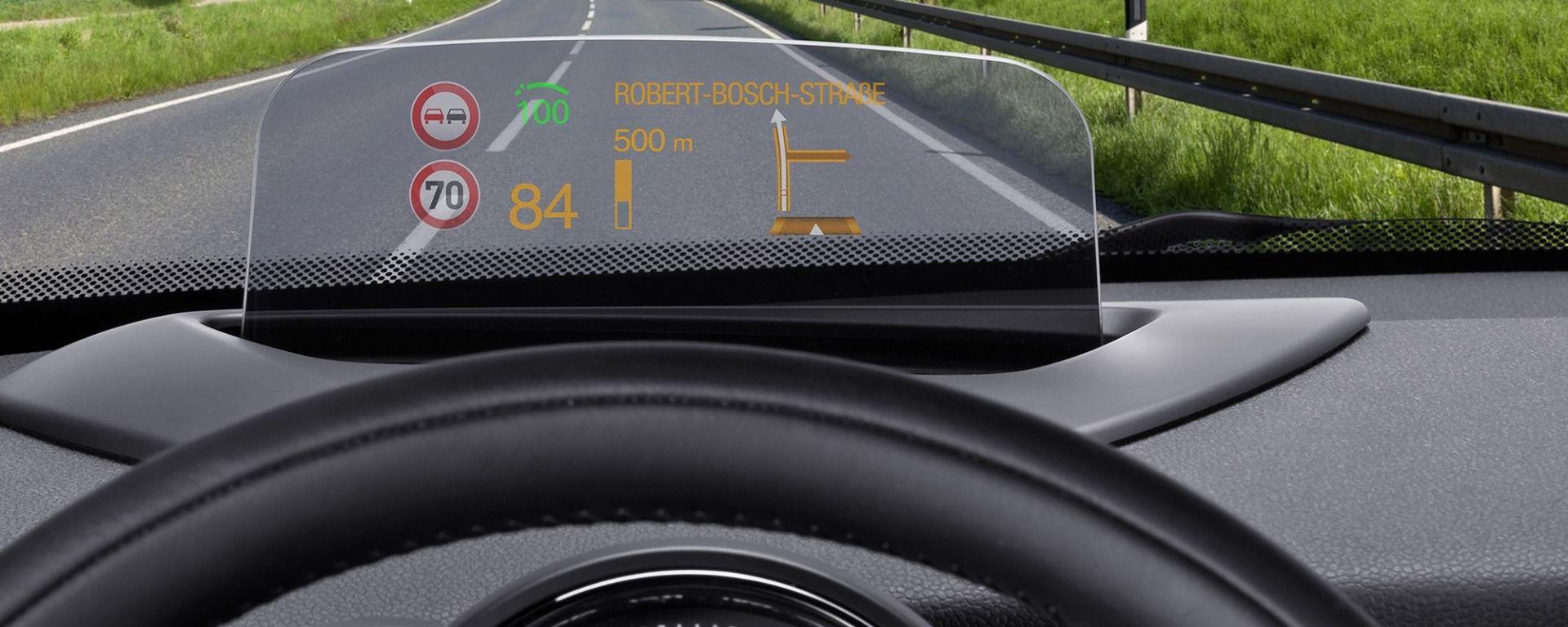 Bosch, presto uno scanner per la proiezione laser interattiva