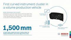 Bosch realizza il primo quadro strumenti curvilineo al mondo - Immagine: 4