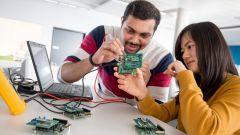 Bosch Sensortec, sviluppo di sensori elettromeccanici