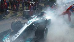 Bottas costretto al ritiro nel GP di Spagna 2017