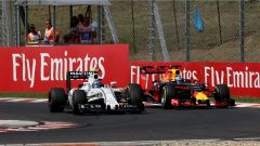 Bottas e Ricciardo - GP Ungheria