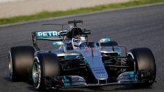 Bottas, Mercedes - F1 2017 test Barcellona