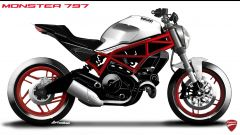 Bozzetto Ducati Monster 797