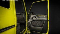 Brabus G500 4x4² by Carlex, gli interni porta