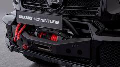 Brabus Mercedes Classe G: l'argano anteriore