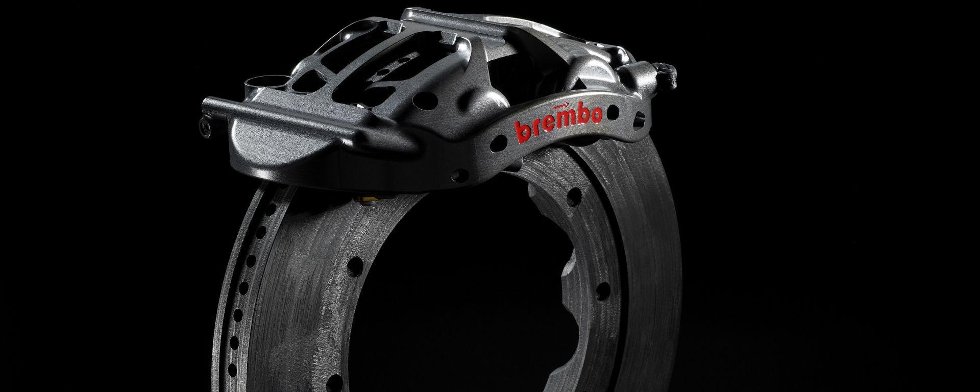 Brembo, il freno a disco e la pinza anteriore di una monoposto di Formula E