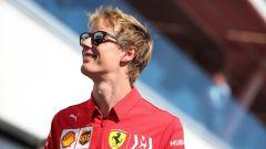 Brendon Hartley a Montreal in divisa Ferrari. Dal 2019 è pilota del simulatore di Maranello