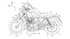 Honda Super Cub e CB1100: in arrivo una sospensione Hossack? - Immagine: 2