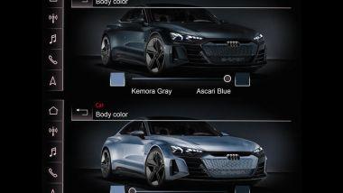 Brevetto Audi: la RS e-tron GT modifica la tinta della carrozzeria