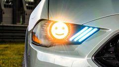 I brevetti dei fari a LED personalizzabili di Ford
