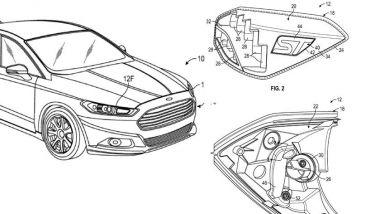 Brevetto Ford: uno dei disegni depositati all'ufficio brevetti