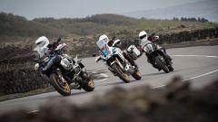 * Bridgestone Battlax Adventure Trail AT41 e Battlecross X31, misure