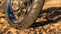 Bridgestone Battlax Adventure X40: la gomma anteriore usata nella prova su strada