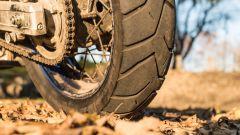 Bridgestone Battlax Adventure X40: la gomma posteriore usata nella prova su strada