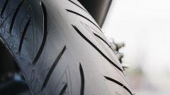 Bridgestone Battlax Scooter SC2, close-up