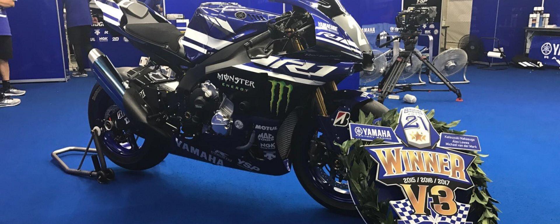 Bridgestone e Yamaha Factory Racing, Campioni alla 8 Ore di Suzuka