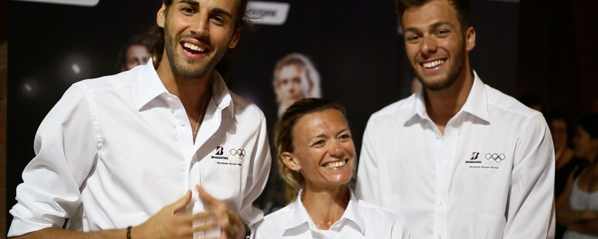 Bridgestone: gli Ambassador Gianmarco Tamberi, Valeria Straneo e Gregorio Paltrinieri