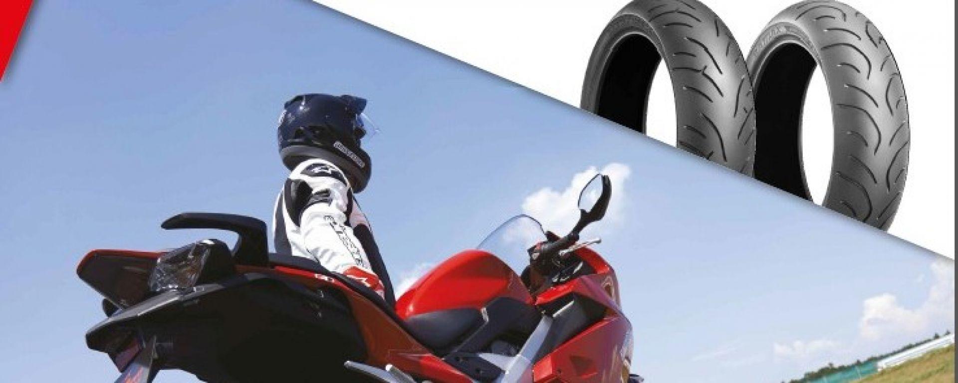 Bridgestone: per ogni set di pneumatici in omaggio una powerbank