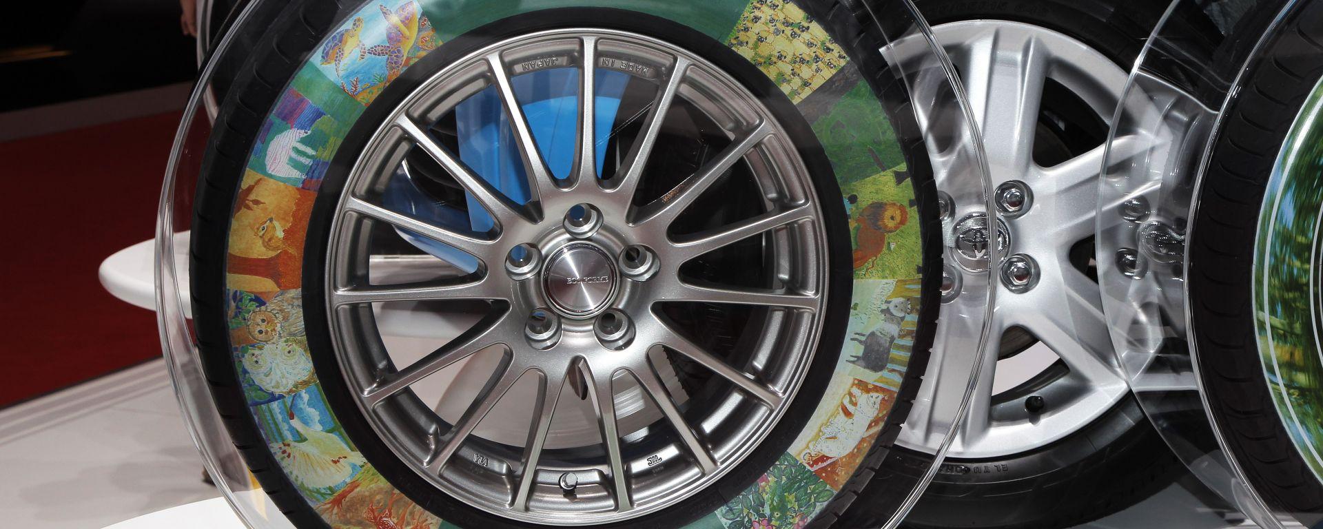 Bridgestone Tyre Printing