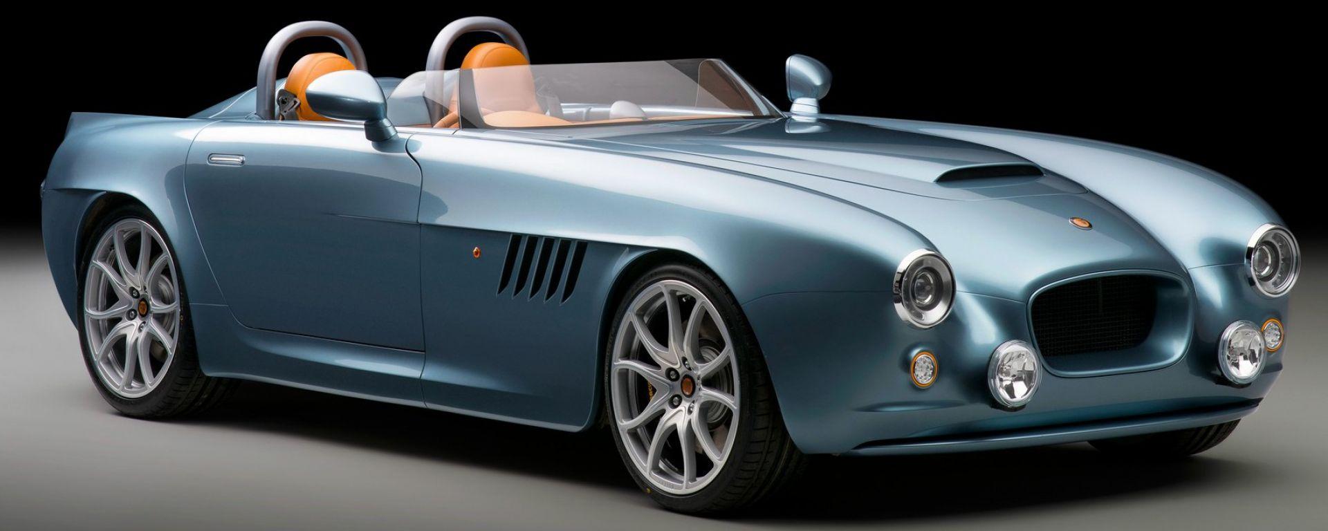 Bristol Bullet è l'auto del rilancio per Bristol Car: un mix moderno-rétro da 300.000 euro circa