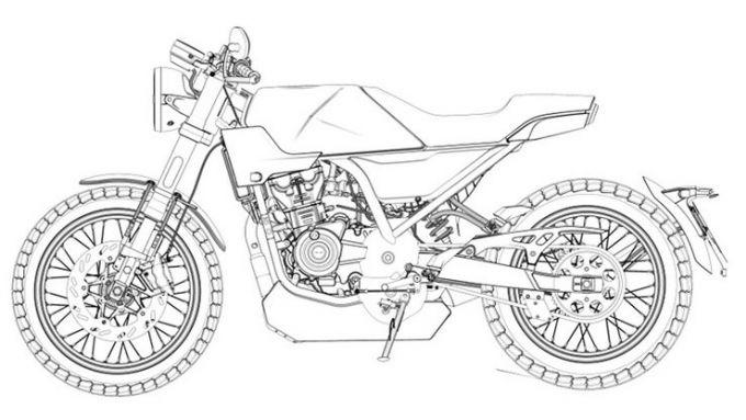Brixton Crossfire 125, i brevetti della versione definitiva