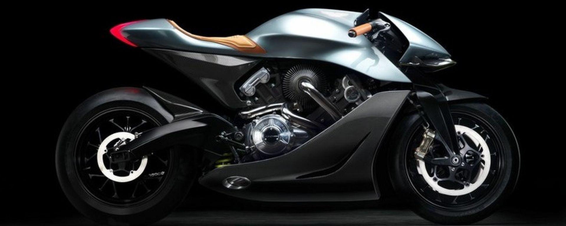 Brough Superior AMB-001, la moto di Aston Martin