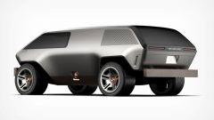 Brubaker Box: il rendering. 3/4 posteriore