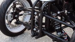 Brudeli Tech Leanster, dettaglio della sospensione anteriore