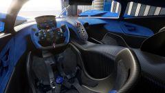 Bugatti Bolide: gli interni spartani
