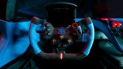 Bugatti Bolide: il volante